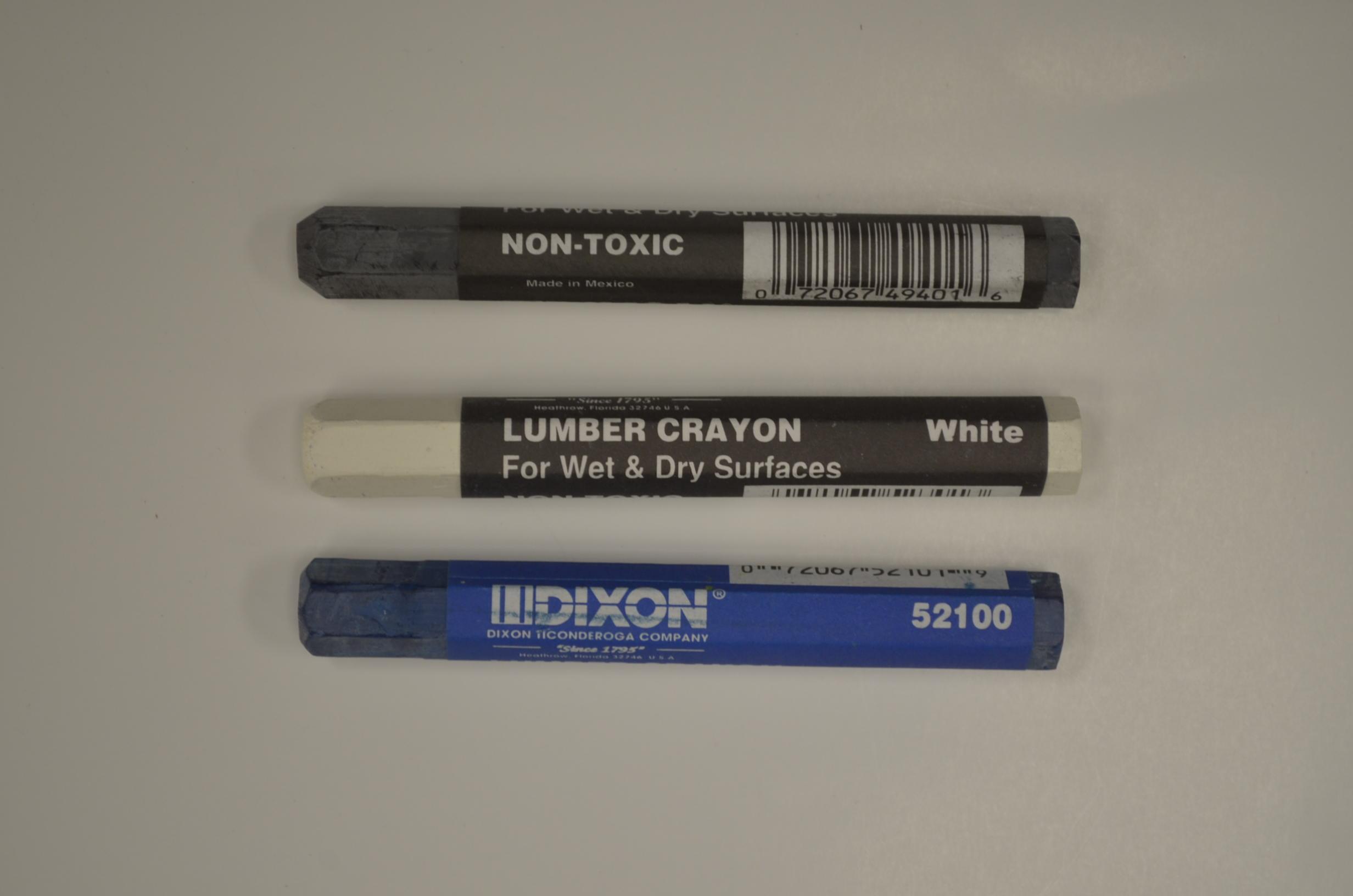 Dixon Lumber Crayon